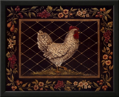 Old World Hen Prints by Kimberly Poloson