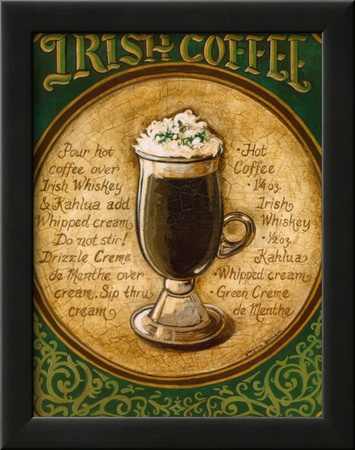 Irish Coffee Posters by Gregory Gorham
