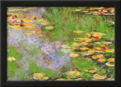Water Lily Pond at Giverny Art by Claude Monet