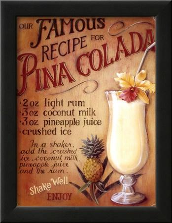 Pina Colada Print by Lisa Audit
