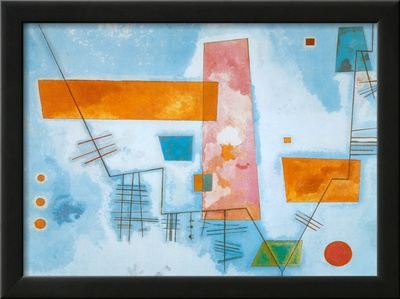 Structure Angulaire Posters by Wassily Kandinsky