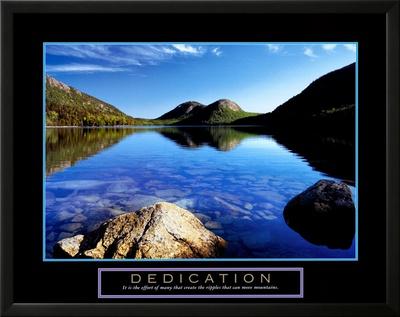 Dedication: Jordan Pond Posters by Dermot Conlan