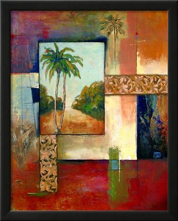 Palm Serenity II Art by  Judeen