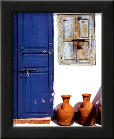 Moroccan Doors Art by Ludovic Maisant