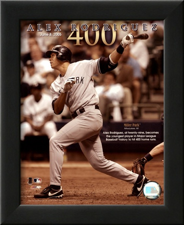 Alex Rodriguez 6/8/05 - 400th Career Home Run Prints