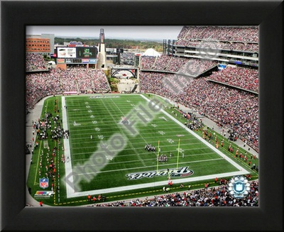 Gillette Stadium, Prints