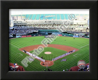 Oakland-Alameda County Coliseum 2010 Opening Day Art