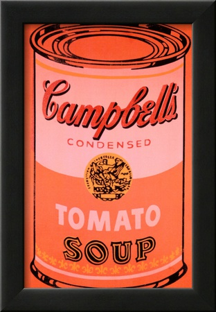 Campbell's Soup Can, c.1965 (Orange) Poster by Andy Warhol