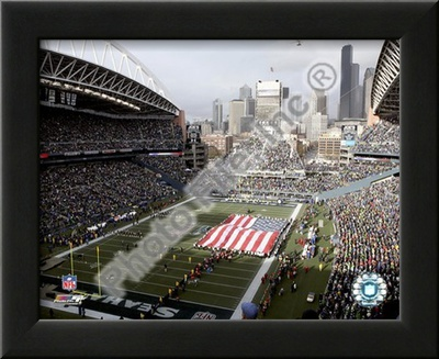 Qwest Field Posters