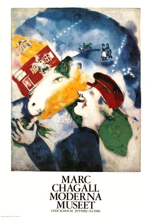 La Vie Paysanne Collectable Print by Marc Chagall