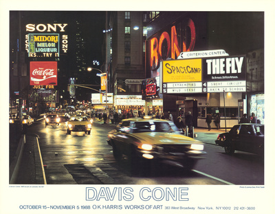 Criterion Center Collectable Print by Davis Cone