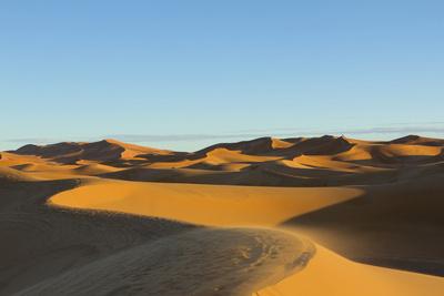 Morocco, Merzouga. the Desert Photographic Print by Michele Molinari