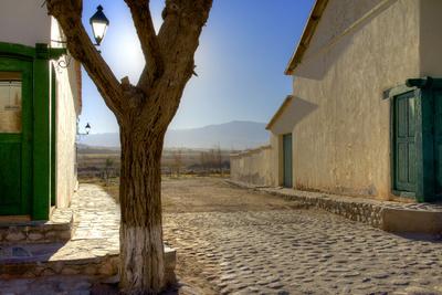 Argentina, Salta, Valles Calchaquies. Close-Up Street View Photographic Print by Michele Molinari