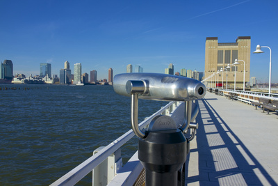 USA, New York City, Hudson River Looking Toward New Jersey Photographic Print by Michele Molinari