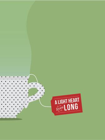 A Light Heart Lives Long Foto