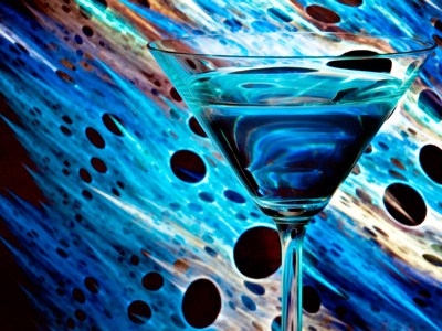 The Bar at the End of the Universe 2 Metal Print by Ursula Abresch
