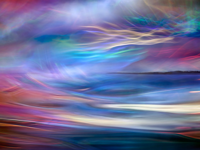 Evening Ferry Ride Metal Print by Ursula Abresch