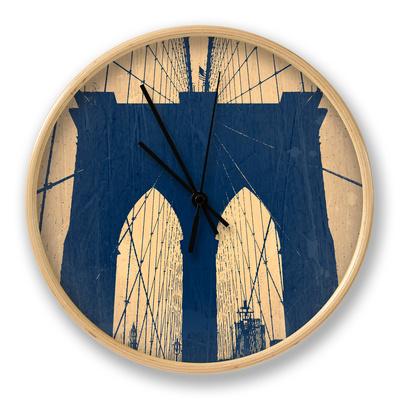 Brooklyn Bridge Clock by  NaxArt