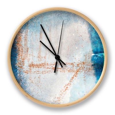 Ice Age I Clock by Archie Kate
