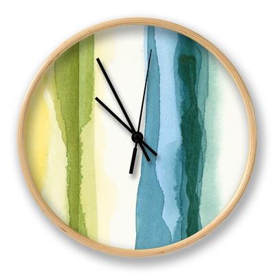 Liquidity IV Clock by Chariklia Zarris