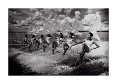 Water Ski Parade Posters by  The Chelsea Collection