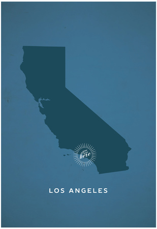 You Are Here Los Angeles Posters