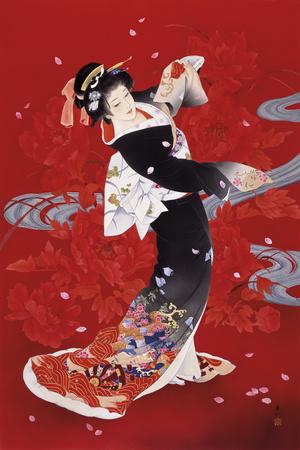Hien Giclee Print by Haruyo Morita