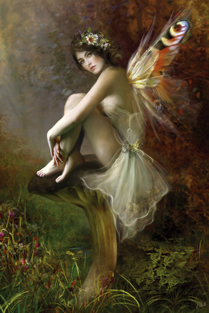 Autumn Dancer Giclee Print by Bente Schlick