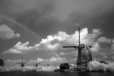 Windmill I Photographic Print by George Johnson