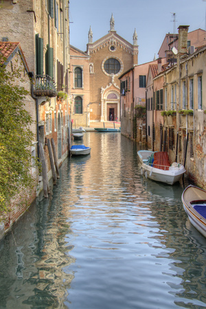 Waterways of Venice I Print by George Johnson