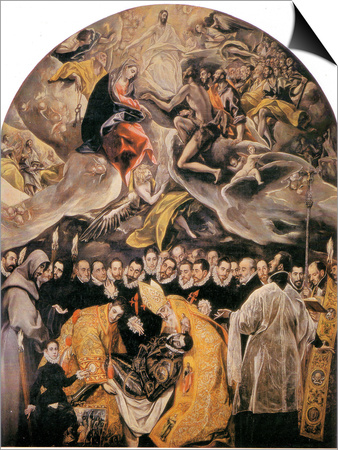 L'Enterrement Du Comte D'Orgaz Posters by  El Greco
