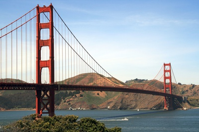 Golden Gate Bridge Photographic Print by  ZapIchigo