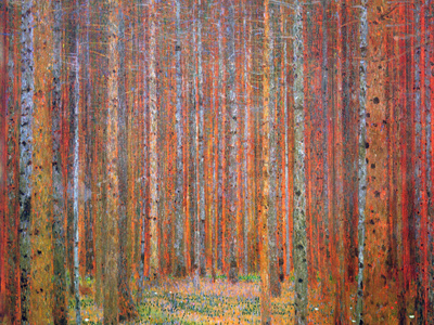 Tannenwald I Magnetic Art Baskı