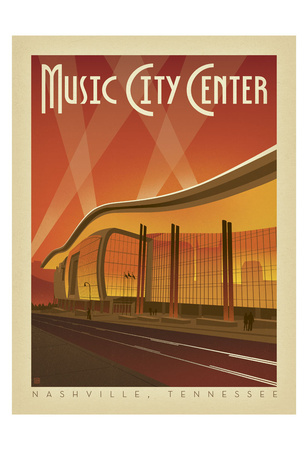 Music City Center, Nashville, Tennessee Prints by  Anderson Design Group