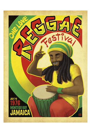 Reggae Fest Posters by  Anderson Design Group
