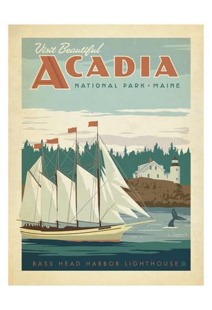 Acadia National Park, Maine Kunstdruck von  Anderson Design Group