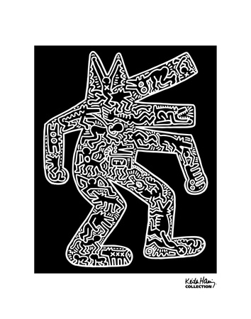 Dog, 1985 Prints by Keith Haring