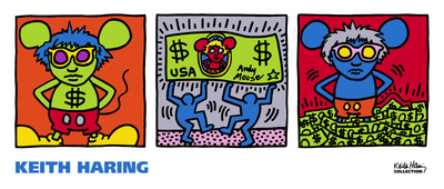 Andy Mouse, 1986 Art by Keith Haring