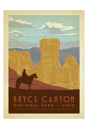 Bryce Canyon National Park, Utah Print by  Anderson Design Group