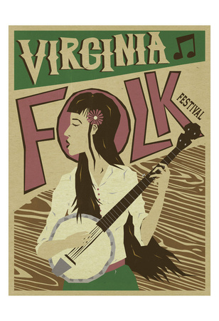 Virginia Folk Festival Posters by  Anderson Design Group