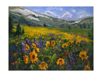 Sierra Awakenings II Stampe di Nanette Oleson