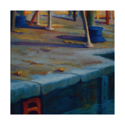 Dockside, Pimlico, 2000 Giclee Print by Lee Campbell