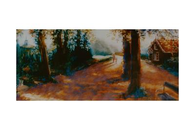 Dane John Gardens, Canterbury, 2000 Giclee Print by Lee Campbell
