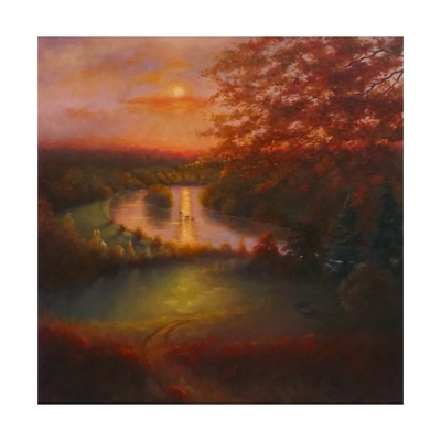 October Glow 2011 Giclee Print by Lee Campbell