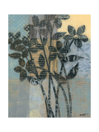 Quilted Bouquet I Posters by Norman Wyatt Jr.