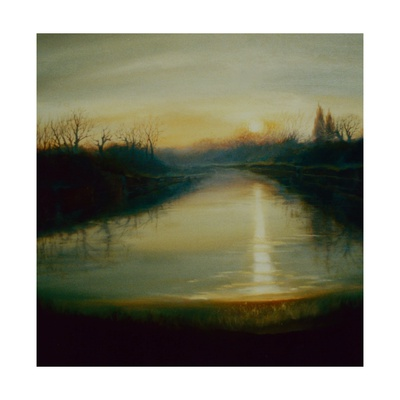 Winter Thames, 2009 Giclee Print by Lee Campbell