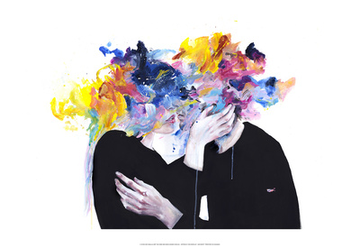 Intimacy On Display Prints by Agnes Cecile