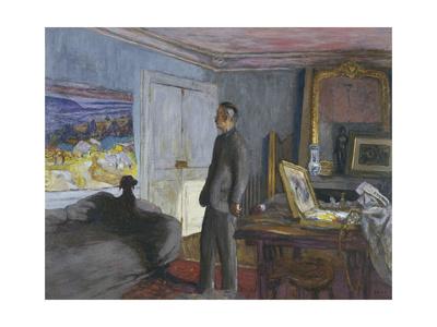 Bonnard dans son atelier Giclee Print by Edouard Vuillard