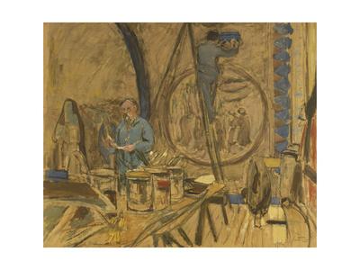 Maquette pour le portrait de Maurice Denis Giclee Print by Edouard Vuillard