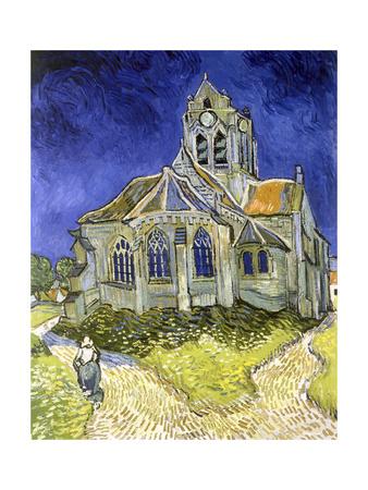 L'Eglise d'Auvers-sur-Oise Giclee Print by Vincent van Gogh